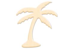 Palmier en bois naturel - Motifs brut – 10doigts.fr