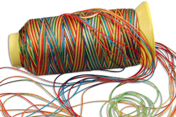 Fil nylon perroquet - 230 mètres - Nylon – 10doigts.fr