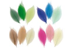 Feuilles en camaïeu de couleurs - 20 pièces - Fleurs et feuilles – 10doigts.fr