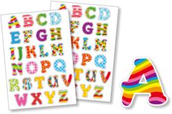 Gommettes Alphabet fantaisie - Alphabets, Lettres, Chiffres – 10doigts.fr