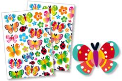 Gommettes papillons - Gommettes fantaisie – 10doigts.fr
