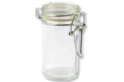 Pots à épices ronds en verre