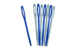 Aiguilles en plastique - Lot de 8 - Laine – 10doigts.fr
