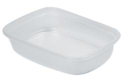 Bacs en plastique 11 x 8 cm - 6 pièces - Palettes et rangements – 10doigts.fr