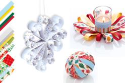 Bandes de papier Quilling - motifs et couleurs de Noël - Quilling, paperolles – 10doigts.fr