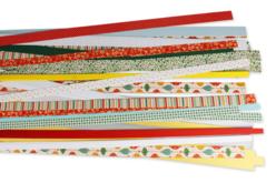 Bandes de papier Quilling - motifs et couleurs de Noël - Quilling – 10doigts.fr