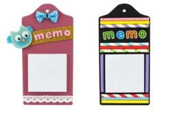 Planchettes Blocs-Notes - Kit de 6 mémos - Mémo et magnet – 10doigts.fr