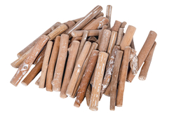 Branches en bois flotté 8 cm - 250 grammes - Bois – 10doigts.fr
