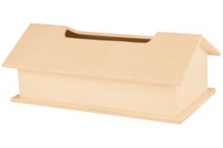 Boite à mouchoirs maison en bois - Boites à mouchoirs – 10doigts.fr