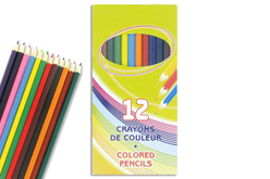 Boîte de 12 crayons
