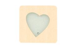 cadre en bois coeur