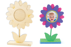 Cadre fleur bébé