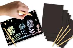 Cartes à gratter holographiques - 5 cartes - Carte à gratter – 10doigts.fr