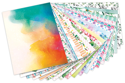 carte forte tendance design aquarelle