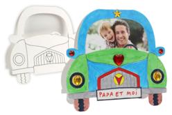Carte voiture à fabriquer - Cartes et poèmes de fêtes – 10doigts.fr
