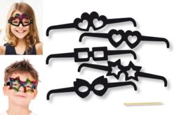 Cartes à gratter : lunettes