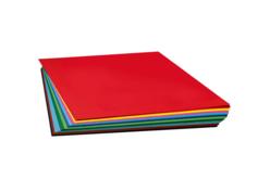 cartes légères 50 x 70 cm à la couleur