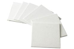 Cartons entoilés carrés - Cartons toilés – 10doigts.fr