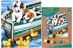 Tableau peinture au Numéro - Chios - Peinture par numéros – 10doigts.fr