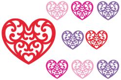 Stickers cœurs en feutrine - Formes en Feutrine Autocollante – 10doigts.fr