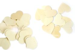 Coeur en bois naturel - Taille au choix - Motifs brut – 10doigts.fr