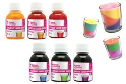 Colorants liquides pour bougie - Colorants, parfums, accessoires – 10doigts.fr