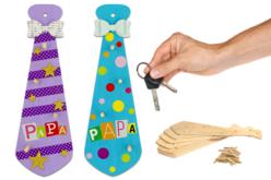 cravate porte-clés fête des pères