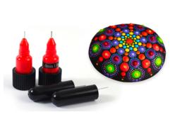 Embouts de précisions pour stylos peinture ou colle - 2 pièces - Accessoires de peintures – 10doigts.fr