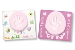 Empreinte main ou pied bébé