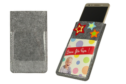 Etui pour smartphone en feutrine épaisse - Objets pratiques du quotidien – 10doigts.fr