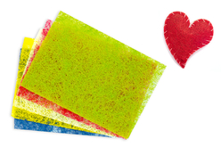Feuilles de Sisal - 5 couleurs vives - Papier artisanal naturel – 10doigts.fr