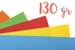 Papiers légers teintés (130 gr) 50 x 70 cm - Couleurs au choix - Papiers Grands Formats – 10doigts.fr