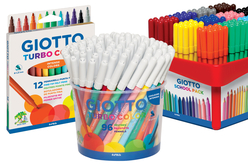 Feutres GIOTTO turbo color pointes moyennes