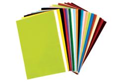 Feutrines 20 x 30 cm, 24 couleurs assorties