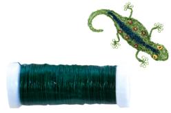 fil métallique vert