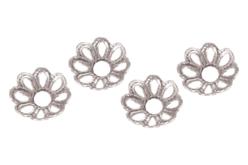 Décors argentés pour perles - 20 décors - Perles intercalaires – 10doigts.fr