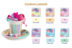 FIMO EFFECT : Couleurs pastels - Fimo Effect – 10doigts.fr