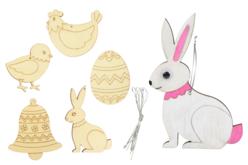formes de Pâques lapin