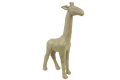 Girafe en papier mâché 15 cm - Animaux en papier mâché – 10doigts.fr