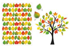 gommettes feuilles