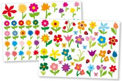 Gommettes fleurs - Gommettes fantaisie – 10doigts.fr