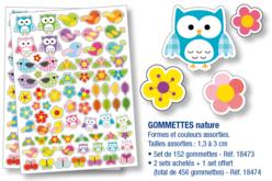Gommettes Nature - Gommettes fantaisie – 10doigts.fr
