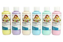 Gouache pastel 10 DOIGTS - Set de 6 flacons de 250 ml - Gouaches 10 DOIGTS – 10doigts.fr