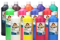 Gouaches 10 DOIGTS 1 litre - Ultra lavable - Gouaches 10 DOIGTS – 10doigts.fr