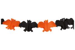 Guirlande de chauve-souris en papier - 3 mètres - Halloween – 10doigts.fr