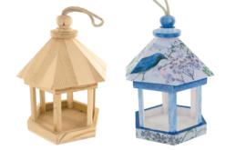 kiosque à oiseaux
