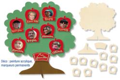 Kit arbre généalogique - Cadres photos – 10doigts.fr