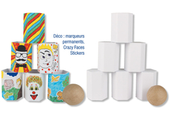 """Kit """"Chamboule tout"""" - Kits Supports et décorations – 10doigts.fr"""