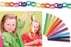 Kit de 200 bandelettes pour créer des guirlandes