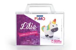 Kit à modeler Fimo - Lilie la licorne - Fimo Soft – 10doigts.fr